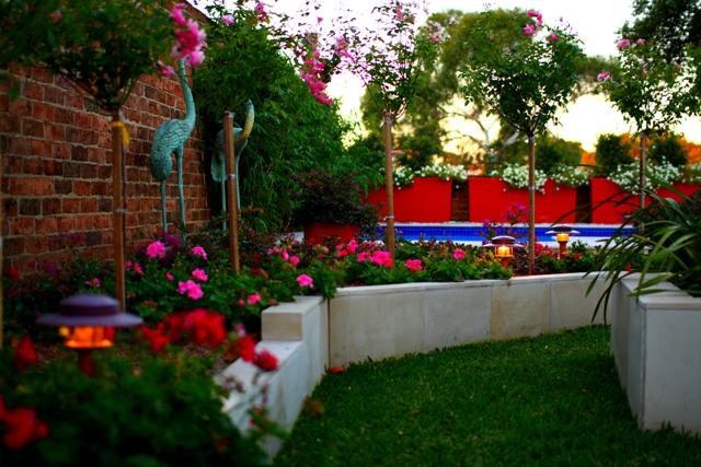 Pool make over anthony spies landscapes for Garden makeover