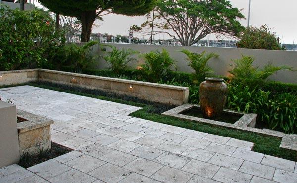 Stylish pool garden 004