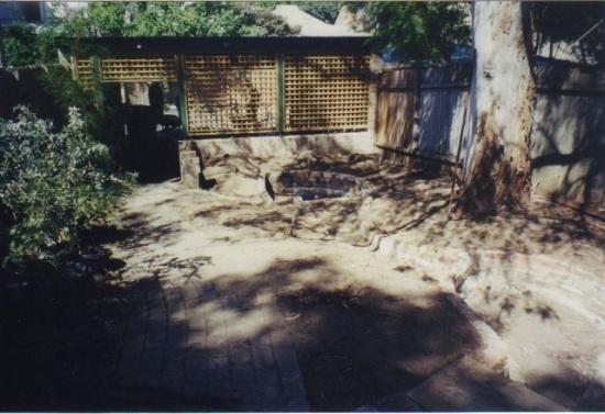 Native garden construction 002